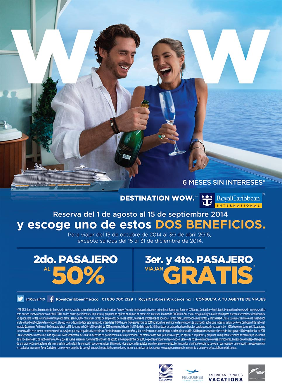 Royal Caribbean Destination wow