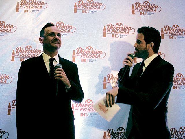 Gerardo Murray con Mane de la Parra