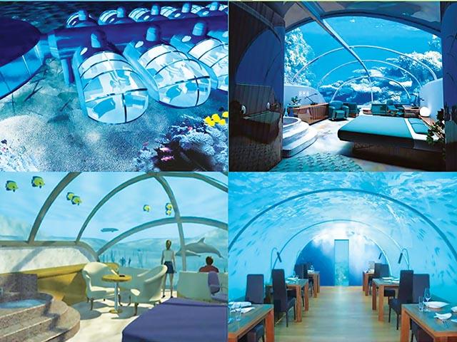 Hoteles divertidos divertid simos invertour for Hoteles en el agua maldivas