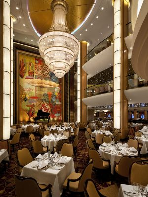 Interiors, Allure, Allure of the Seas?, Adagio, Dining ,specialty Restaurant,