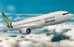 Alitalia sigue con gran fuerza, servicio y entusiasmo