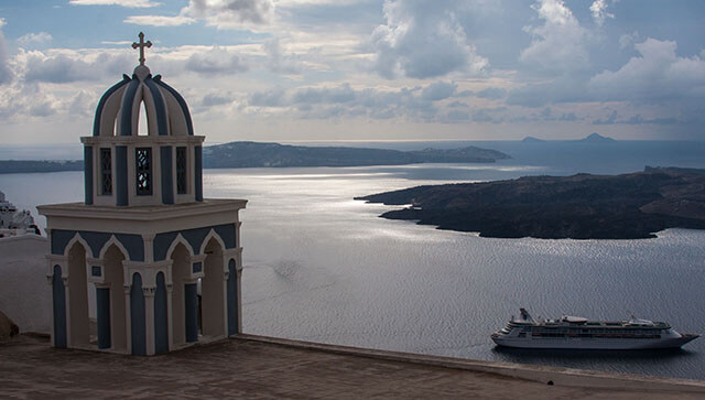 Santorini,Greece, Mediterranean, Island, Shore Excursions , Royal,