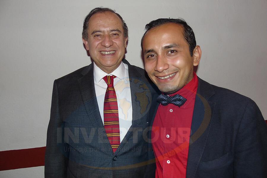Humberto Farrera y Emmanuel Villamil