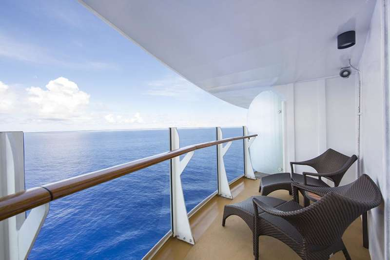 AquaTheater Grand Suite with Balcony - Balcony