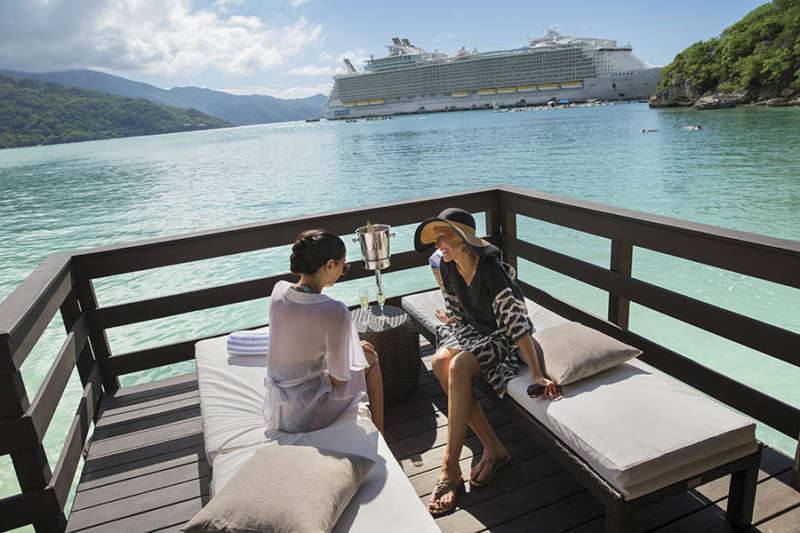 OA, Oasis of the Seas, Royal Suite Class, GENIE shoot,