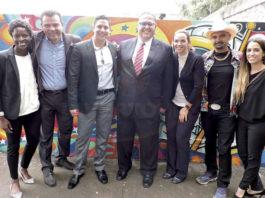 Annie Allen, Mauricio González, Miguel Miranda, Jorge Franz, Pilar Florez, Gonzo247 y Marcella Corona