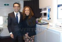 Rodrigo Llaguno y Giselle Friederichsen