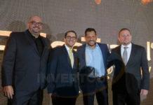 Pablo Castro, Esteban Velásquez, Michalis Christodoulou y Juan Socas
