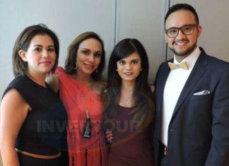 Claudia Medina, Araceli Ramos, Alejandra Ramírez y Oscar Morales