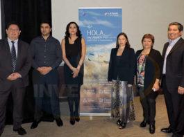 Giacomo Kerlegand, Claudio Veas, Diana Olivares, Gabriela Castellucci, Ana María Kochifas y Carlos Miller