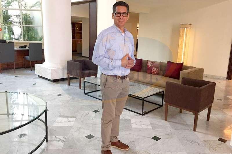 Heriberto Jaime, gerente general de Hotel Presidente InterContinental Mérida