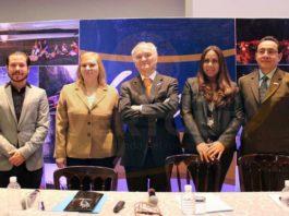 Daniel Arróniz, Gloria Cano de la Fuente, Arnaldo Pinazzi, Verónica Salazar y Víctor Manuel Enríquez