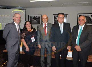 Guillermo Valencia, Marisol Vanegas, Roberto Ibarra, Armando López Cárdenas y Eduardo Yarto Aponte