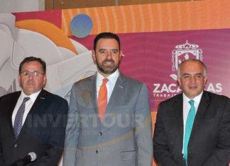 Federico Borrego, Alejandro Tello y Eduardo Yarto