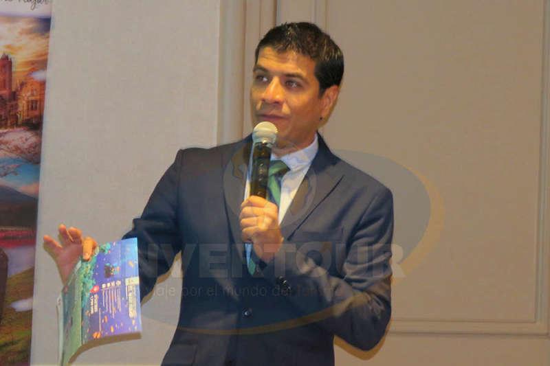 Jorge Flores, gerente Comercial de PE-TRA Operadora