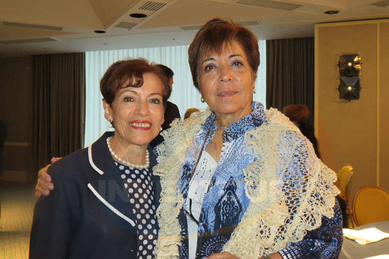 Lupita Cortés y Maripaz Rodríguez