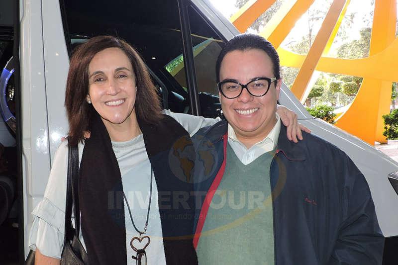 Isabel Azpiri con  Miguel Ángel Alcántara