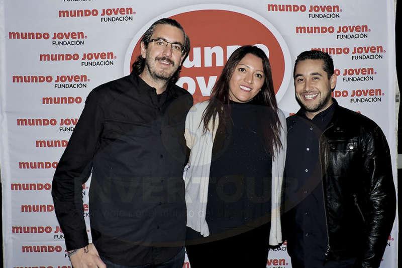 Jordi Llorens, Ivette Díaz  y Rubén Mora