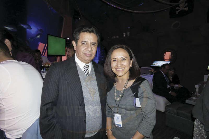Eduardo López y Claudia Guevara