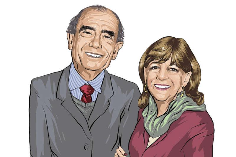 Rodolfo y Graciela Curiel