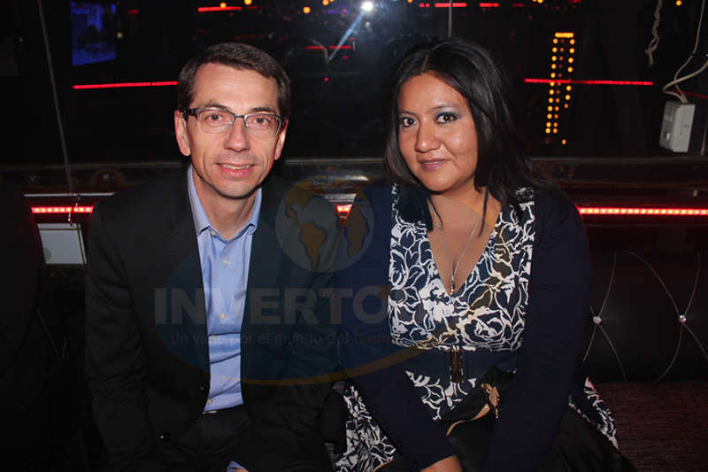 Petr Lutter con Paty Torres