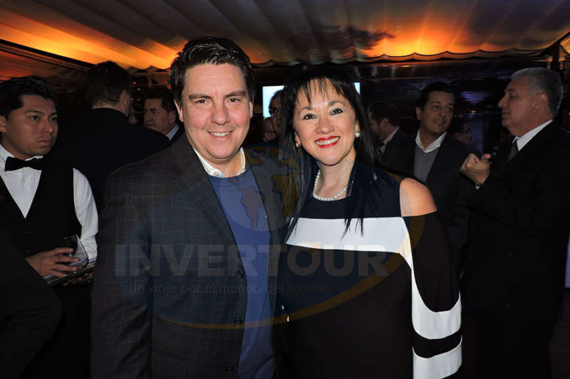 Jorge Goytortua con Yarla Covarrubias