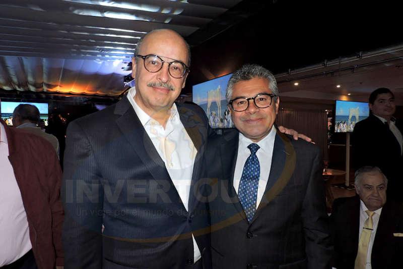 José Manuel Díaz de Rivera con Jorge Mejía