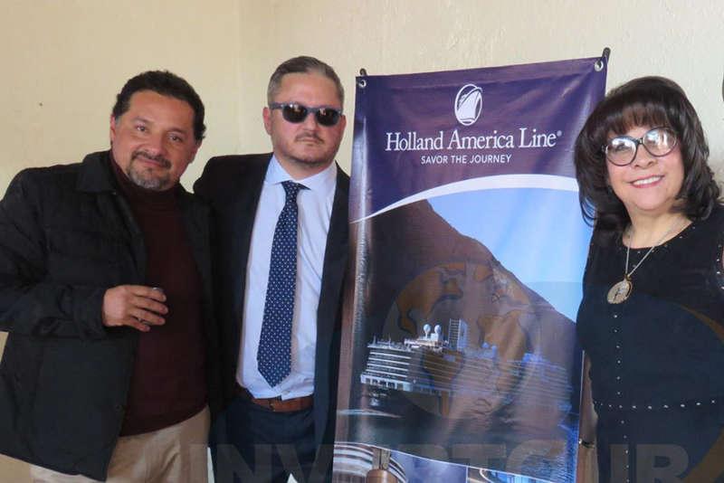 José Luis Gómez, Julio Laguna López y Blanca Olivera