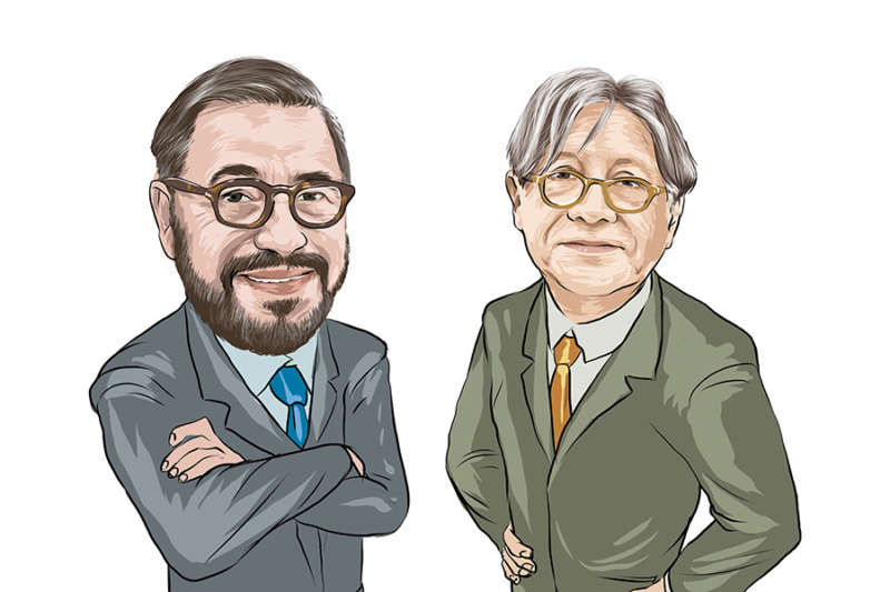 Carlos Ruiz y Carlos Samanez