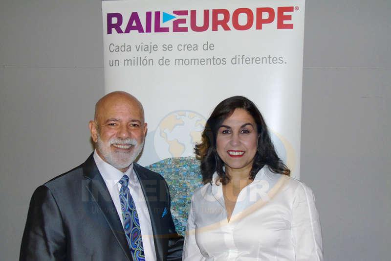 Ángel Álvarez y Clarissa Mattos