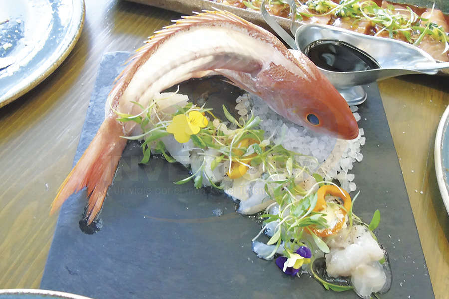 Sashimi de Besugo Portugués