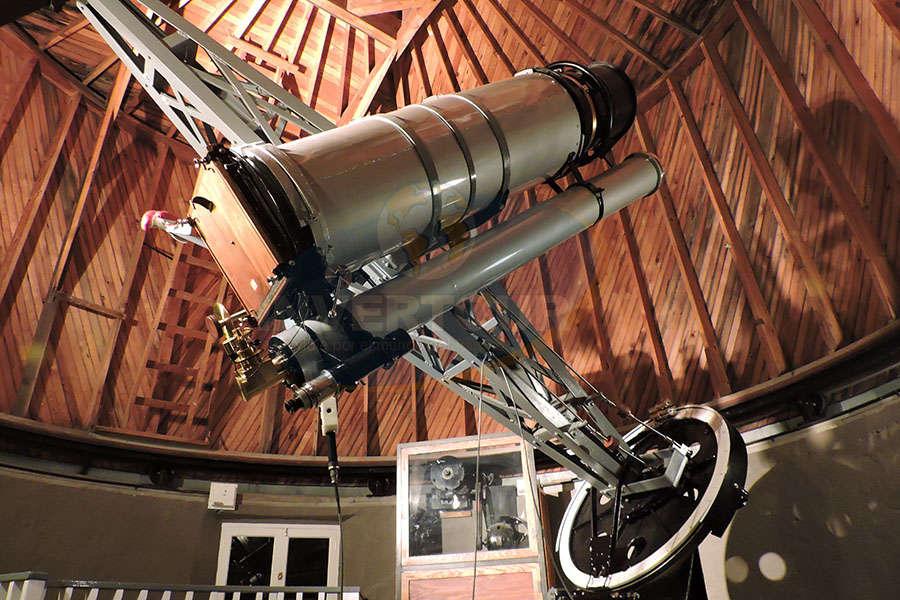 En Observatorio Lowell, el telescopio que descubrió Plutón