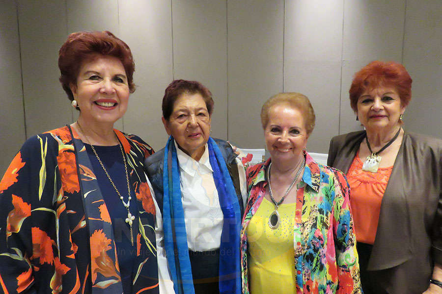 Yolanda Montes, Teresita Macías, Emma Lammoglia y Maricarmen Vargas
