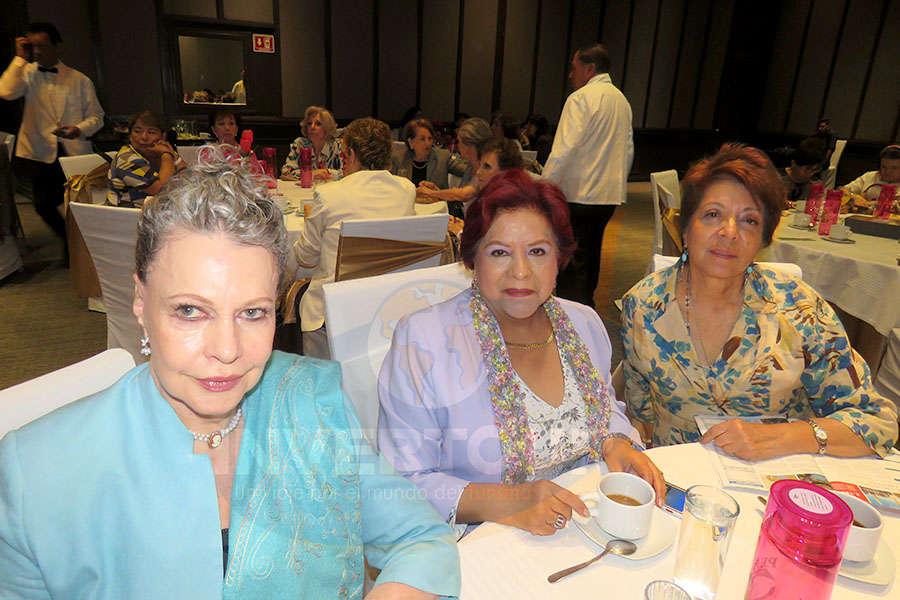 Berenice Lozano, Luz María Larrondo y Maripaz Rodríguez