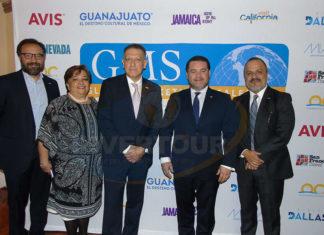 Francisco Ceballos, Maru Bravo, Alex Pace, Fernando Olivera y Benjamín Izquierdo