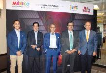 Orlando Mata, Jorge Alberto Cruz, Jaime Rogel, Arturo Esper Sulaimán y Alex Pace