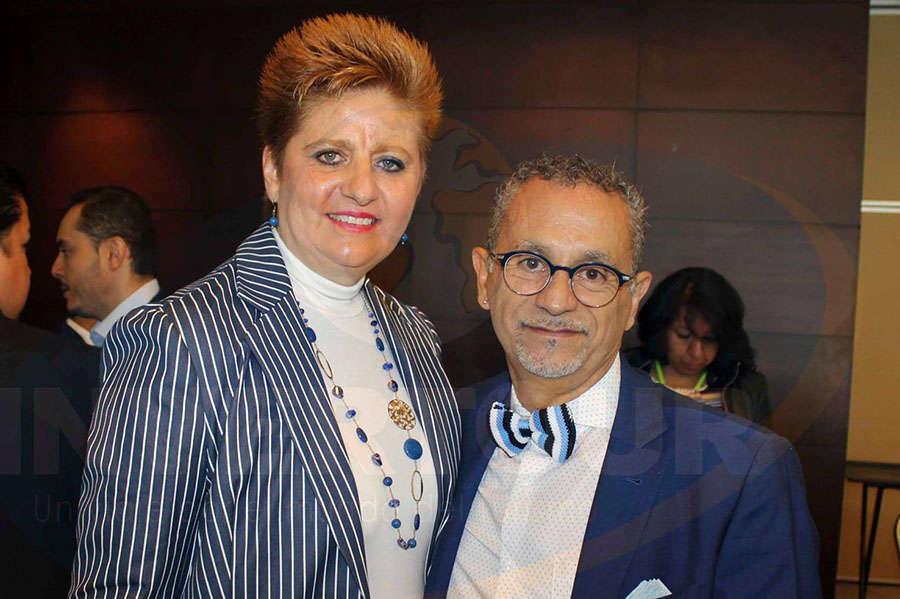 Maylen Jean con Jaime Rogel