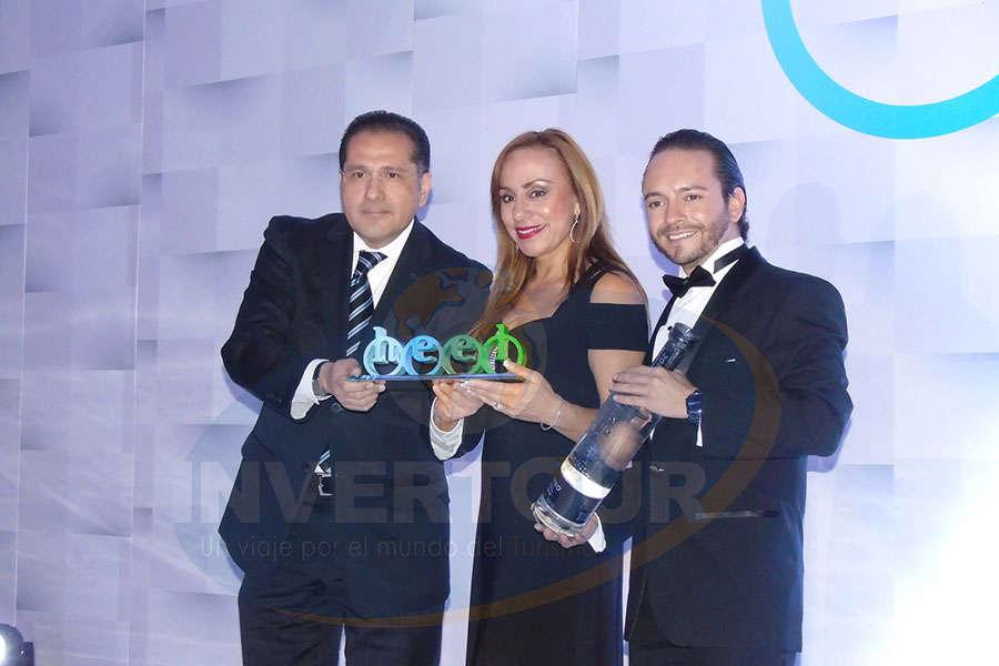 David Espinoza, Araceli Ramos y Bruno Arcos