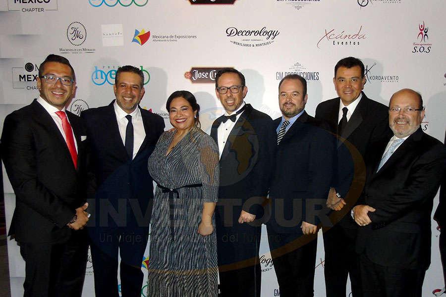 Alfonso Ibarra, Manuel Saracho, Liliana Cabrera, Michel Wohlmuth, Francisco Cachafeiro, Mauricio González y Eduardo Chaillo
