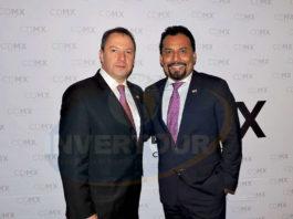 Julián Arroyo con Fidel Ovando