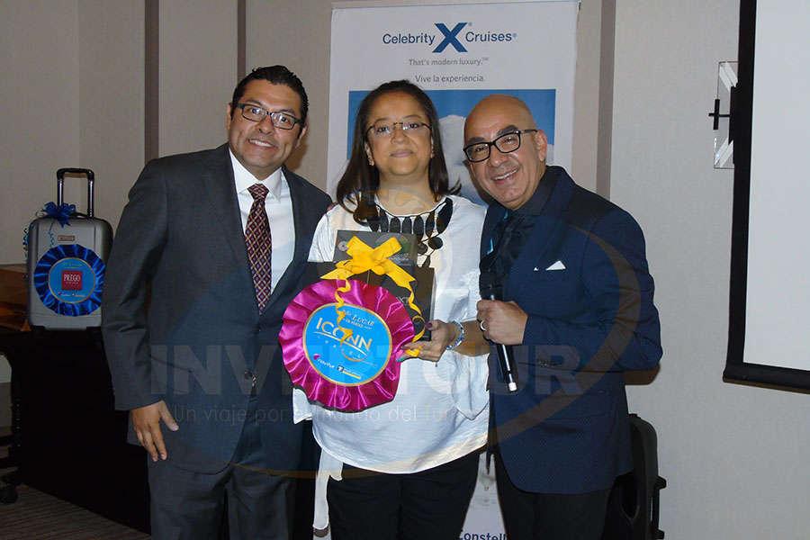 Ramiro Gómez, Mónica Carlón y Erwin Romero