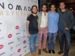 Nicolás Guerrero, Sebastián García-López, Santiago Espinosa de los Monteros y Jordi Llorens