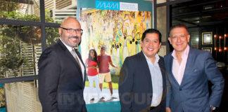 Joe Docal, Jorge Alberto Cruz y Alex Pace