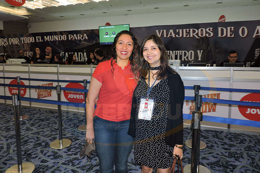 Marcela Sánchez con Marcela Carmona