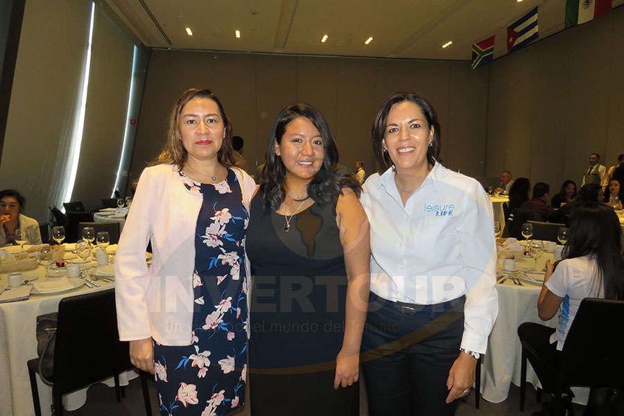 Minerva Hernández, Paty Torres y Cynthia Valencia