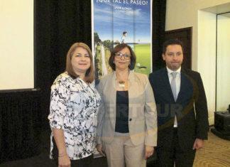 Indira José, Amelia Molina y Xavier Pineda-Madrid