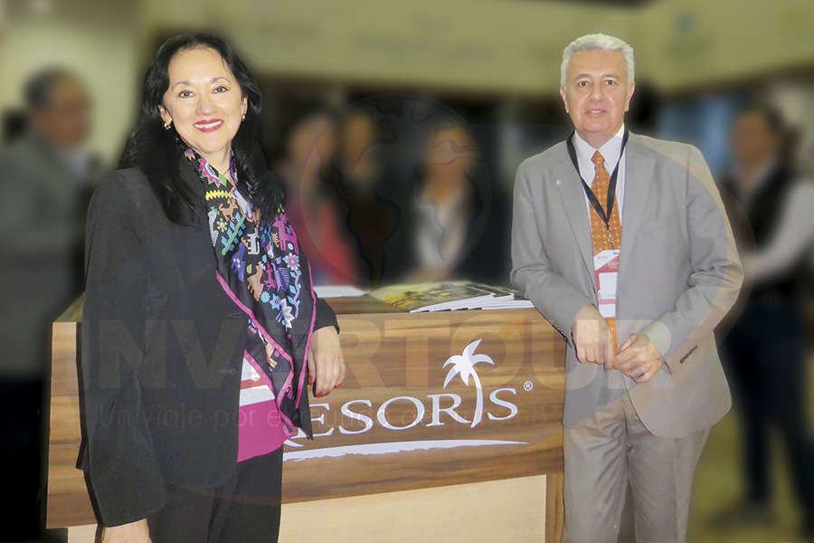 Yarla Covarrubias y Carlos Collado