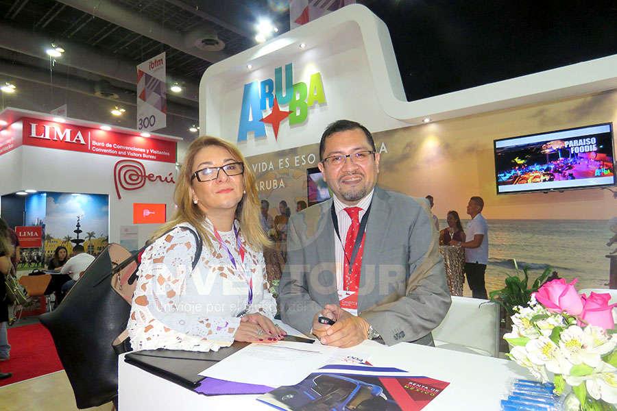 Ana Palacios con Mariano Rosas