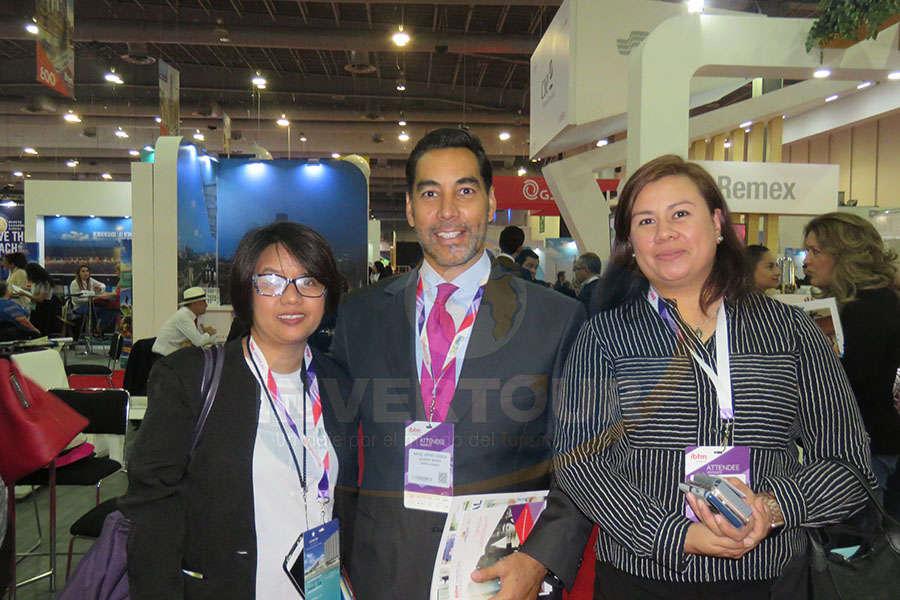 Grace la Rosa, Rafael Aponte y Karem Miranda