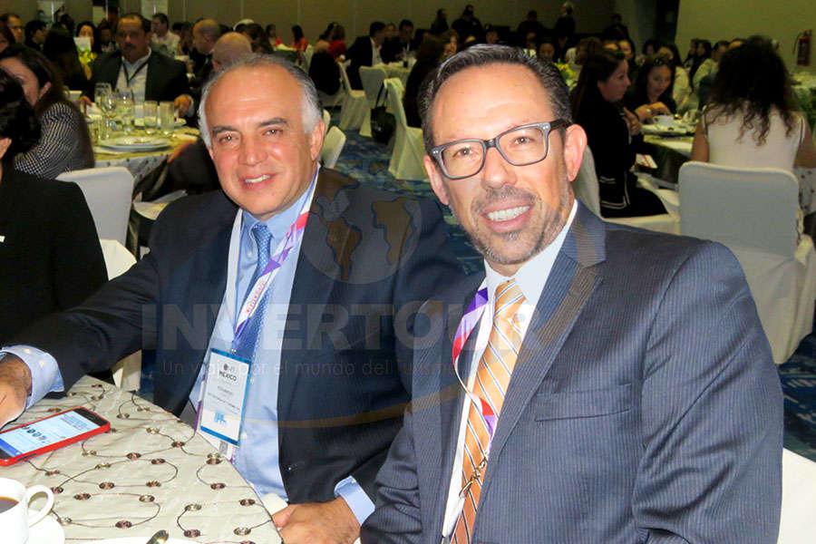 Eduardo Yarto y Michel Wohlmuth